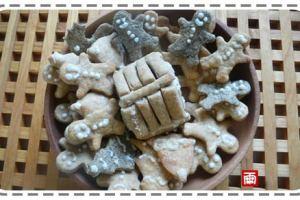 《親子烘焙》提前練習的聖誕節應景薑餅人與薑餅小屋