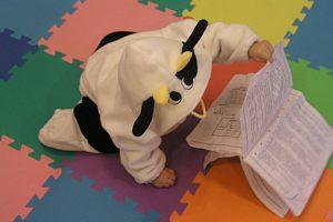 我家有隻小乳牛