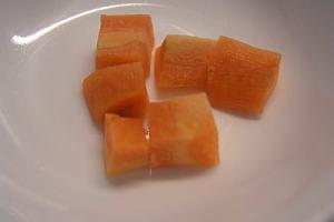 【7~8m】副食品:有機紅蘿蔔泥