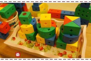 分享引導孩子玩積木的方法