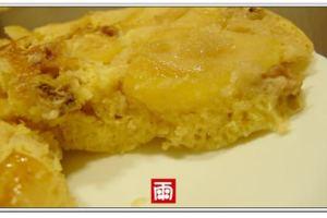 【親子廚房】用平底鍋做蘋果核桃蛋糕