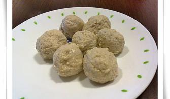 【1y~1y3m】副食品:香菇料理之香菇雞肉粥與香菇小丸子
