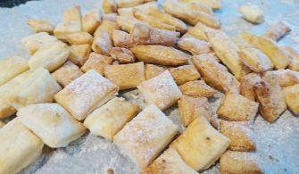 [快速甜點食譜]用抓餅皮做一口餅乾Easy Cookies From Flaky Pancake
