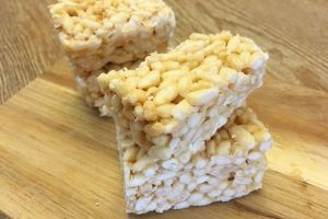 自製媽媽牌楓糖米香Homemade Maple Rice Crispy Treats