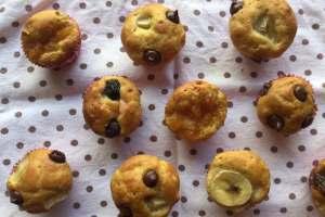 多口味水果瑪芬簡單做Easy Baked Fruit Pancake Muffins