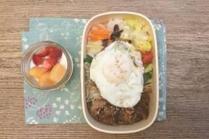 【便當日記】#75 蔬菜多多韓式燒肉飯Bento #75 Korean BBQ Beef Rice (Bulgogi) with Veggies