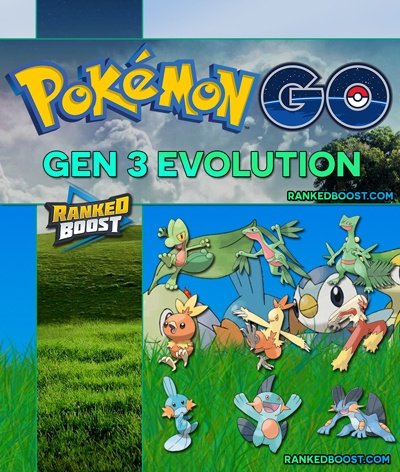 Pokemon GO Gen 3 Pokemon List List of All Generation 3 Evolutions
