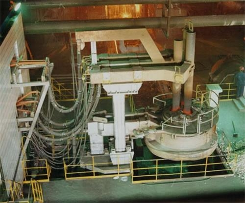 Ladle Furnace 60t Ladle Refining Furnace With Certificate