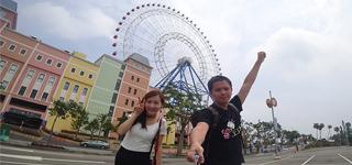 台中》天空之夢 SKY DREAM 摩天輪 中台灣新地標|麗寶樂園|麗寶 Outlet Mall
