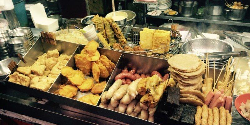 【高雄*食記】左營城隍廟旁 舊城傳統美食 炸物與關東煮的美食雙重奏♬