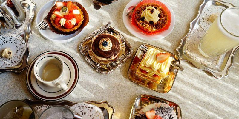 【食記*台南】美到不忍直視的日式甜點.KADOYA 喫茶店