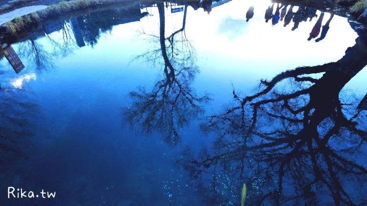山梨.景點 河口湖 世界文化遺產忍野八海的富士山景與湧泉群 @交通方式 @巴士時刻表