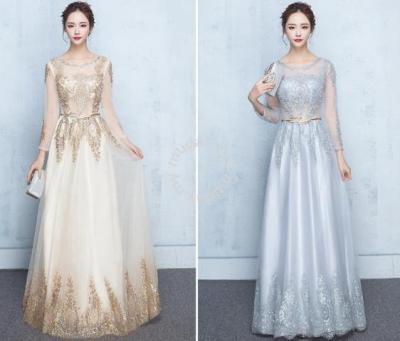 Muslimah Gold Wedding bridal dress RBMWD0027 - Clothes for ...