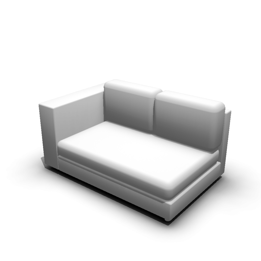 2er Sofa 2er Sofa Left Hand Design And Decorate Your Room In 3d
