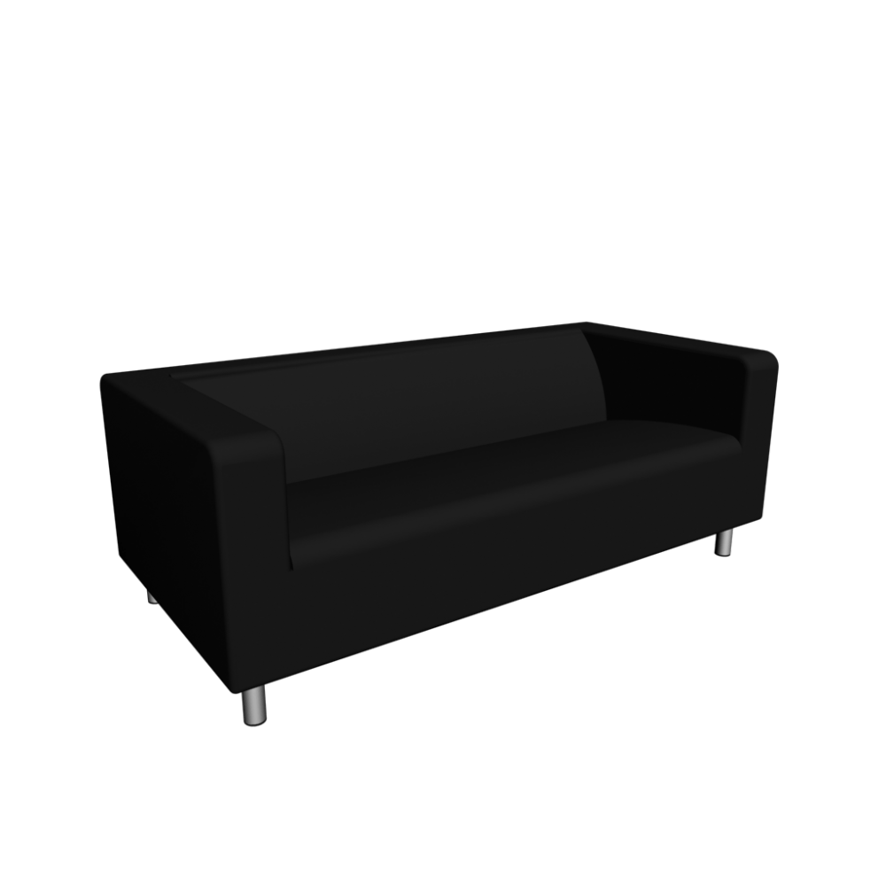 Ikea Sofa Klippan Klippan Loveseat Granån Black Design And Decorate Your Room In 3d