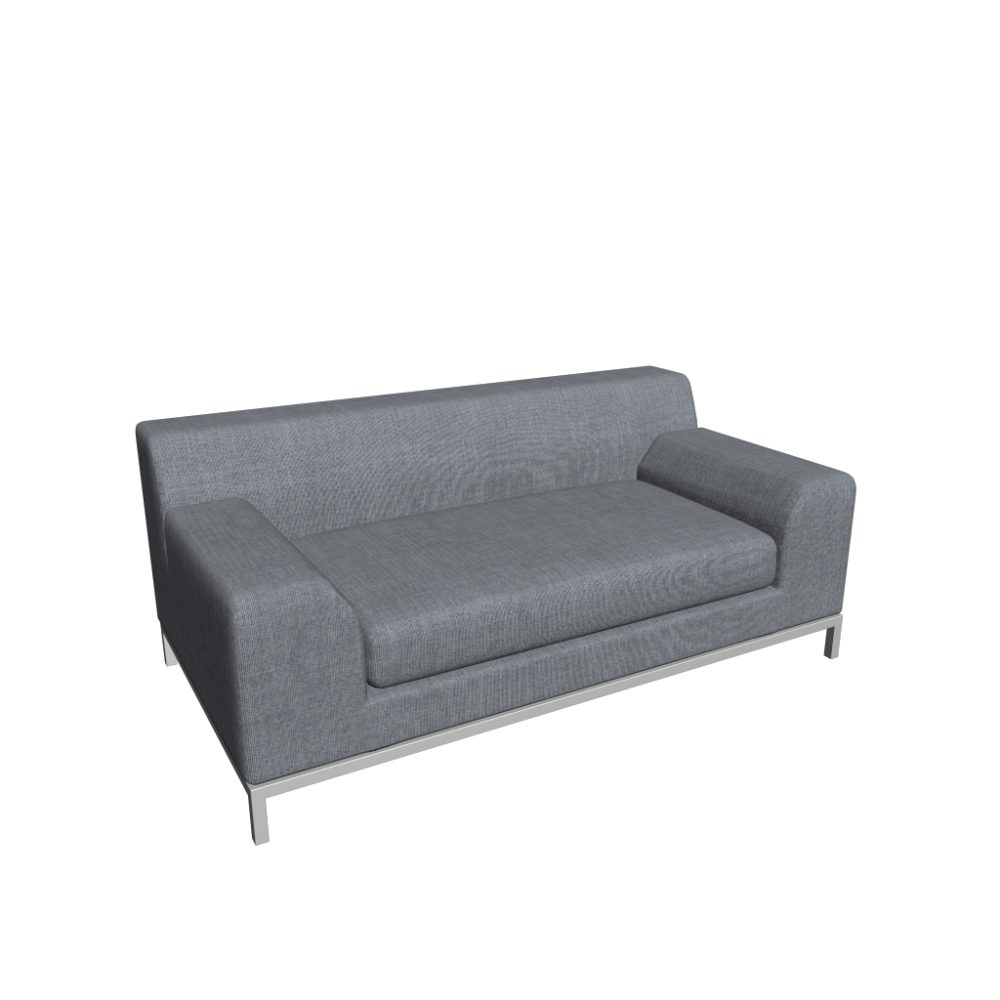 Ledersofa Ikea Kramfors Kramfors 2er Sofa Design And Decorate Your Room In 3d