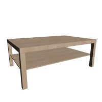 LACK Coffee table, birch effect - Design and Decorate Your ...
