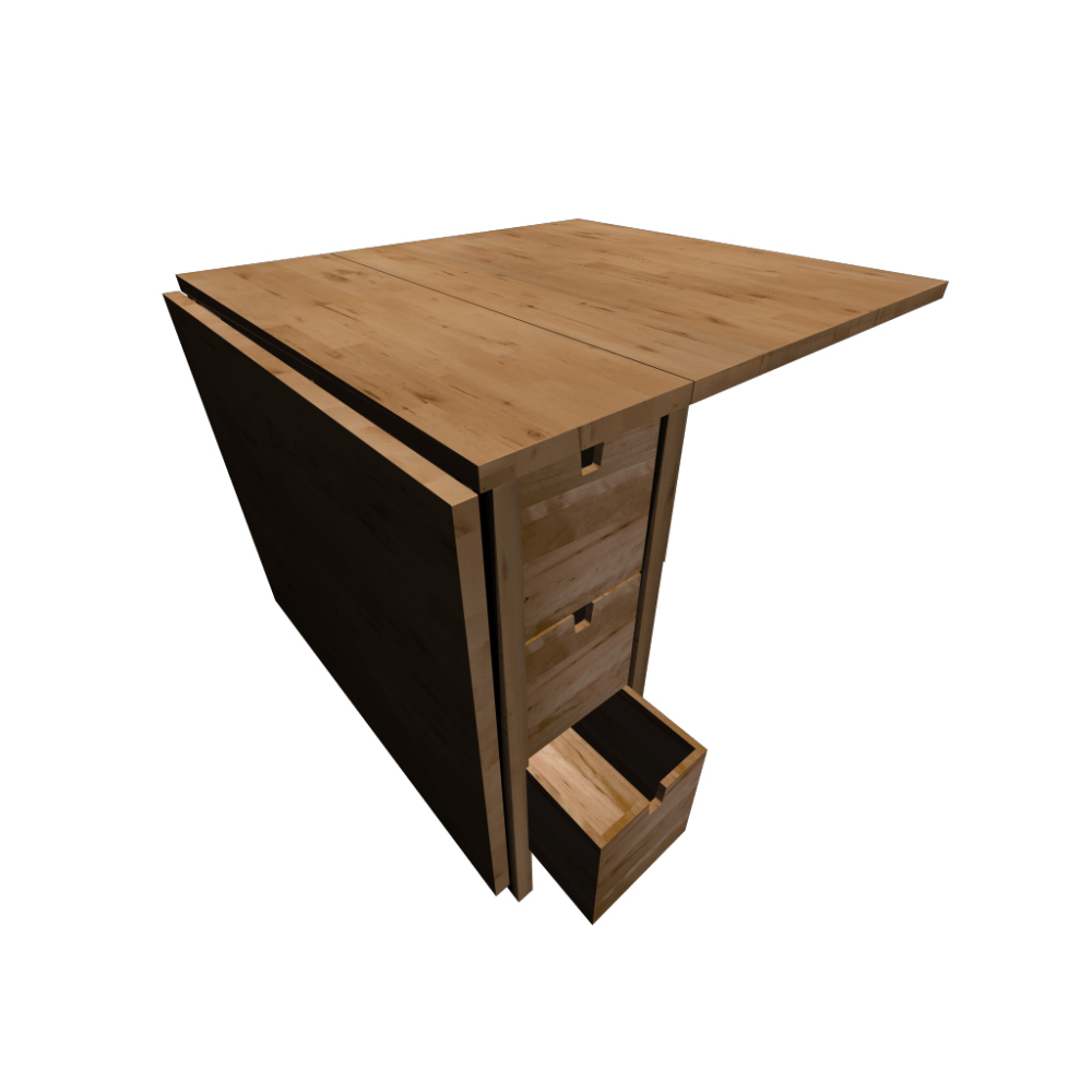 Klapptisch Norden Norden Gateleg Table, Birch - Design And Decorate Your