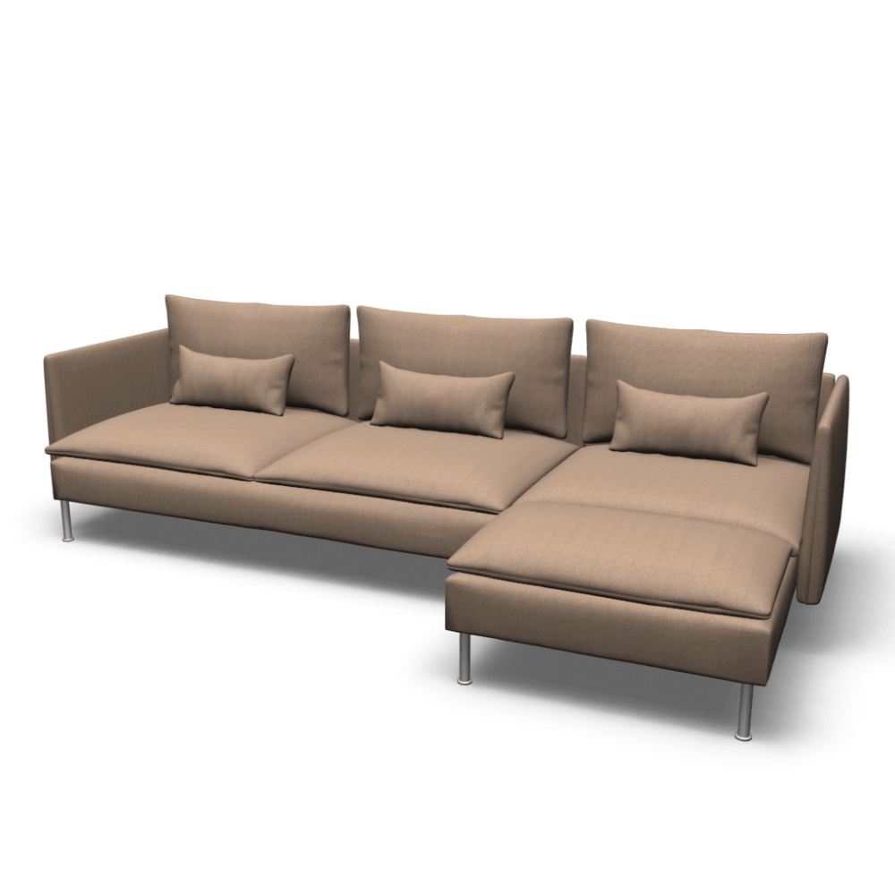 Sofa Soderhamn Ikea SÖderhamn Sofa And Chaise Lounge Design And Decorate Your Room In 3d