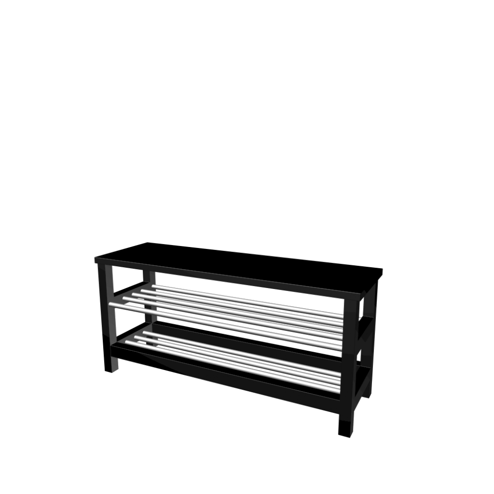 Ikea Tjusig Bank Tjusig Bench With Shoe Storage Design And Decorate Your Room In 3d