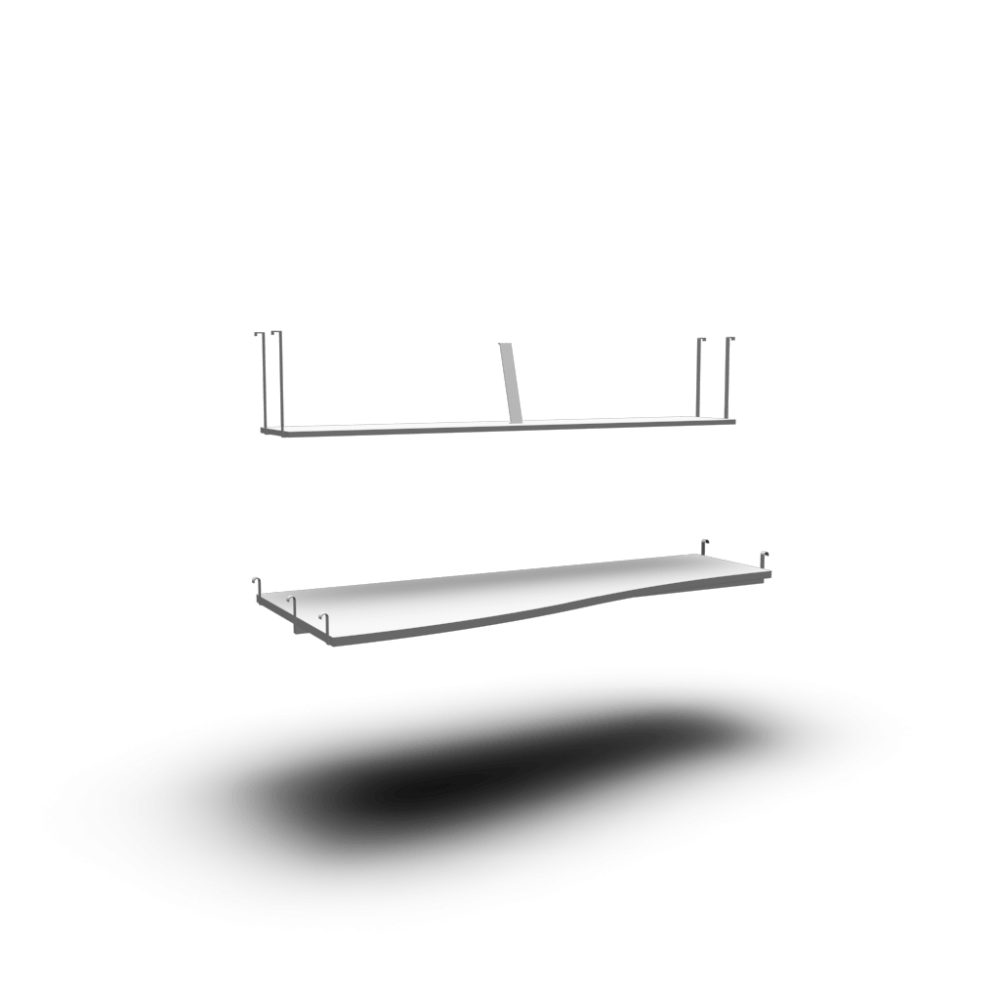 Ikea Desk Top TromsÖ Desk Top And Shelf Design And Decorate Your Room In 3d