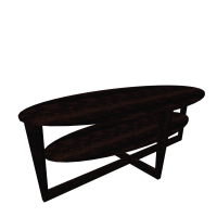 VEJMON Coffee table, black-brown - Design and Decorate ...