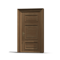 Wooden Door & China Medang Interior Door Wooden Door Solid ...