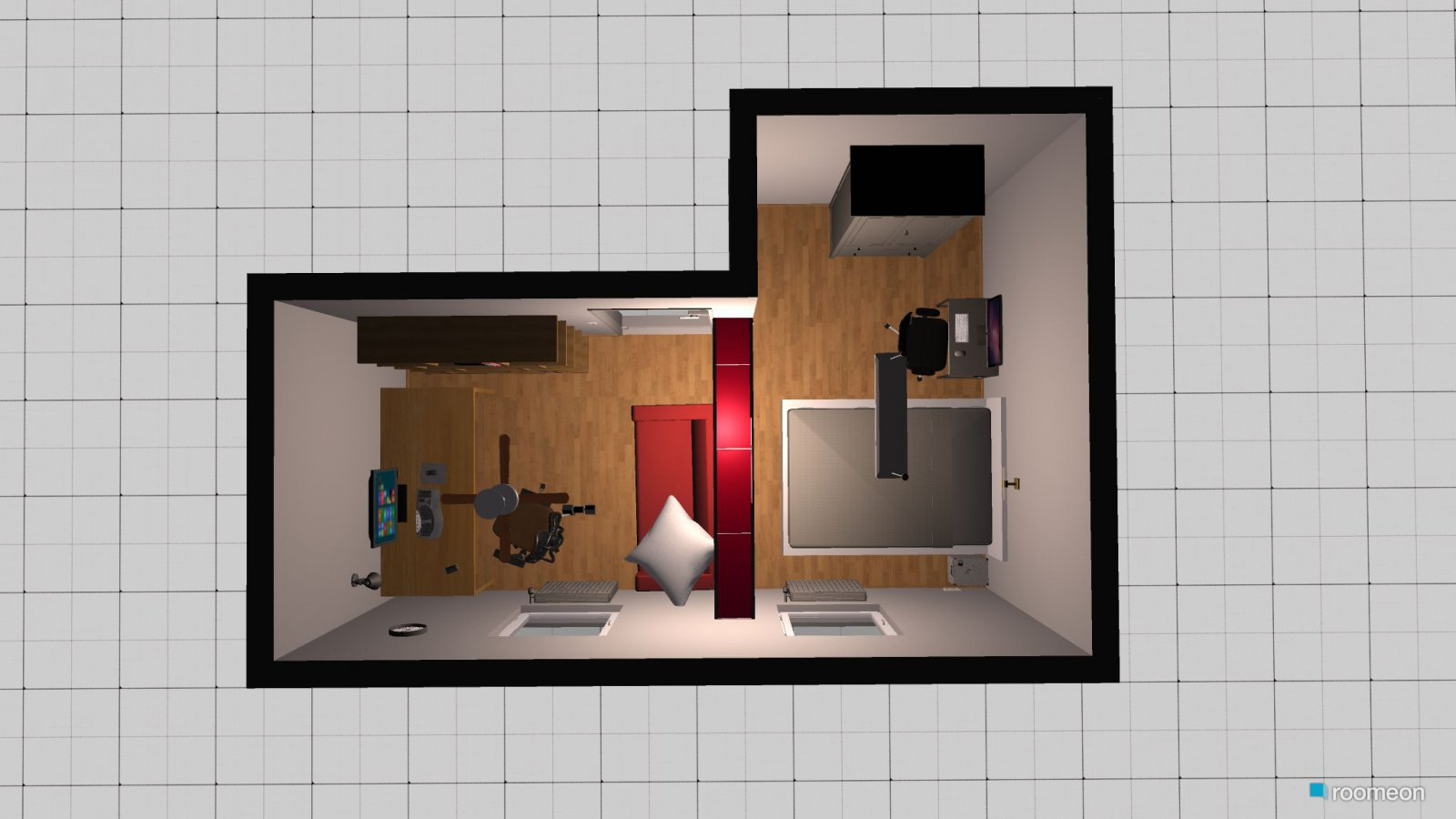 3d Zimmerplanung Raumplanung Gaming And Schlafzimmer Roomeon Community