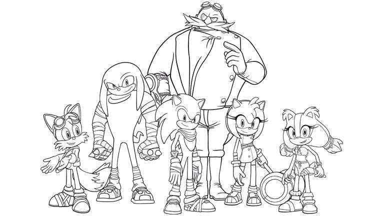 Amazing Juegos De Colorear A Sonic Dibujos Para Colorear De Sonic ...