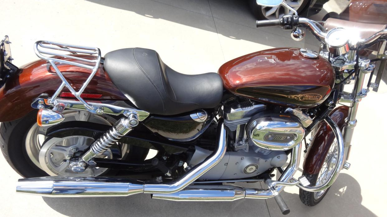 Harley Davidson Sportster 883 Custom Motorcycles For Sale