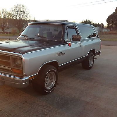Dodge Ramcharger 2 door cars for sale