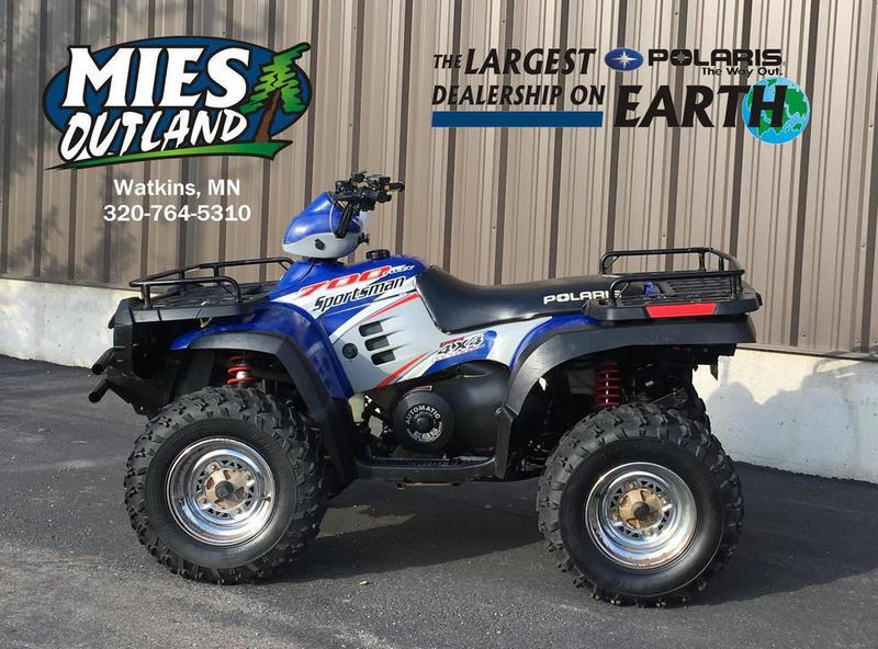 2004 Polaris Sportsman 700 Twin Motorcycles for sale