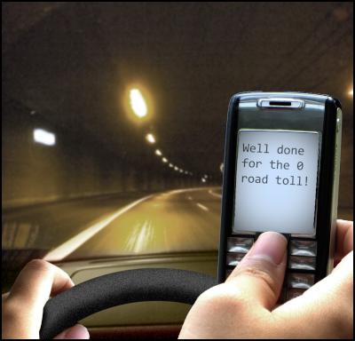 cellphone, texting, sms, driving, car safety