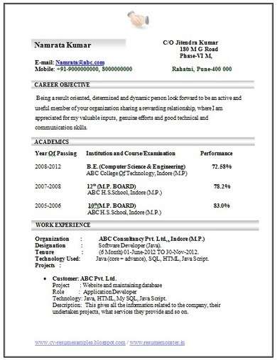 Engineer Resume Samples And Writing Tips For An Effective Over 10000 Cv And Resume Samples With Free Down