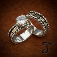 western wedding rings ideas | Wedding decoratio...