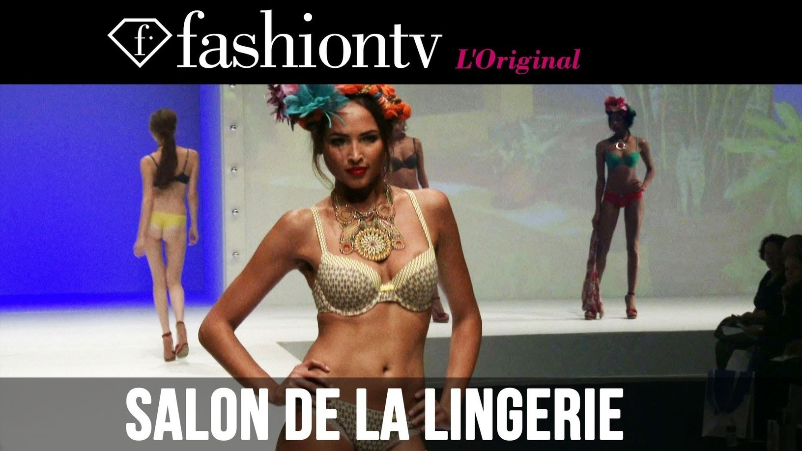 Salon De Lingerie Intimate Chic Lingerie On The Catwalk Salon D