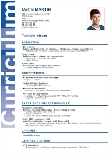 cv avocat collaborateur