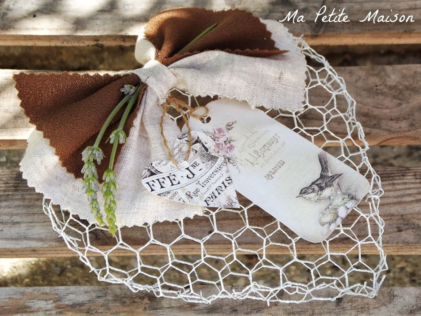 Decorazioni Acquario Fai Da Te Cuore Shabby Chic Love Diy Scoop It