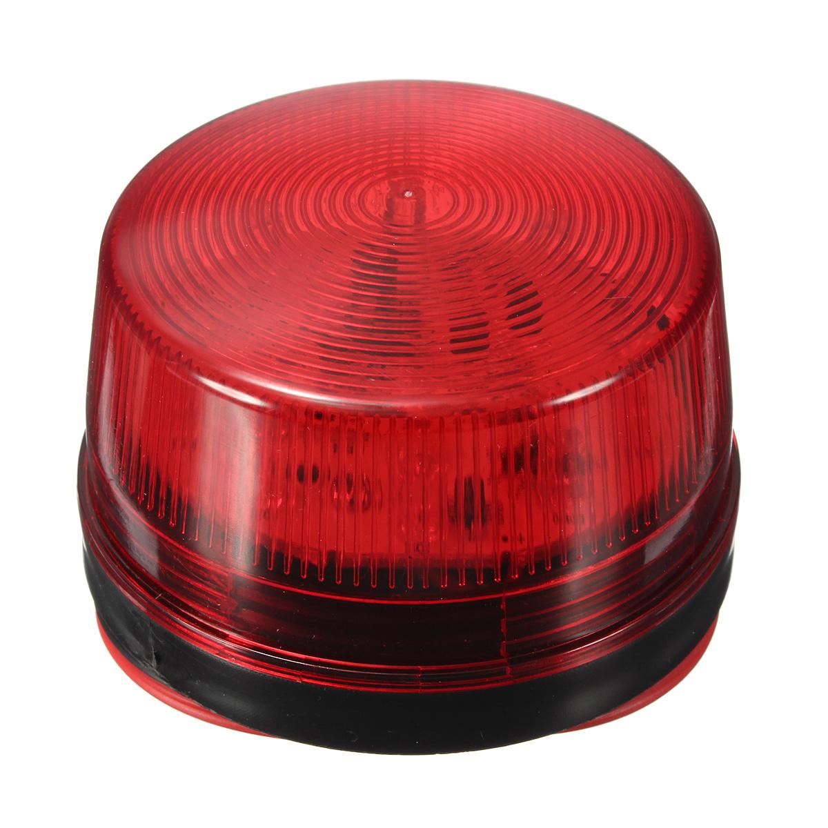 12V Security Alarm Strobe Signal Warn Warning LED Lamp