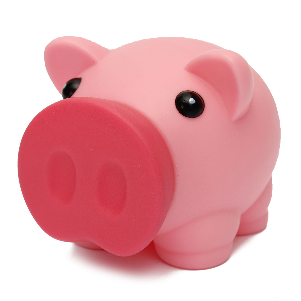 Pink Plastic Piggy Banks Breakageproof Cute Plastic Animal Piggy Bank Saving Cash