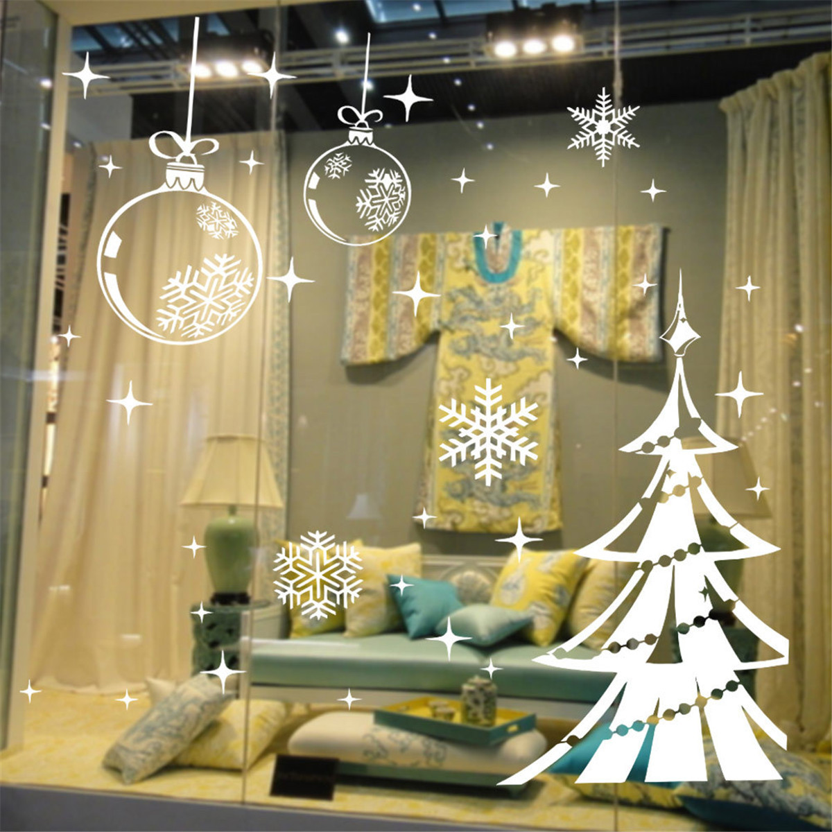 Deco Noel Vitrine Magasin Decoration De Noel Pour Vitrine De Magasin