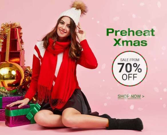 Preheat Xmas - Sale from 70% Off