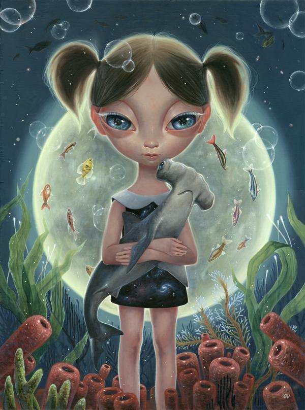 Psychedelic Girl Wallpaper Ana Bagayan Worx Shockblast