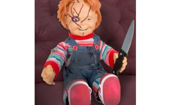 Talking Chucky Doll 24 Inch By Spirit Halloween From