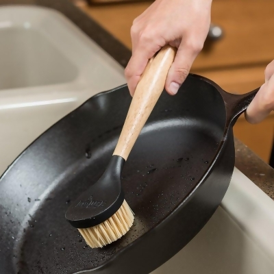 Lodge Nylon Scrubbing Brush for Cast Iron Cookware from Lehman's at SHOP.COM