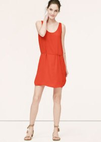 LOFT Petite Shirttail Tank Dress | Dresses - Shop It To Me