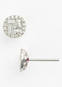 Roberto Coin Roberto Coin 'Tiny Treasures' Diamond Stud ...