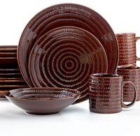 EuroCeramica Euro Ceramica Dinnerware, Snails 16 Piece Set ...
