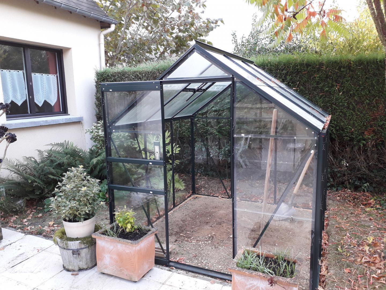 Serre Jardin Halls | Finest Awesome Serre De Jardin Que Planter ...