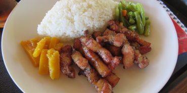 蘭嶼 迦南園 船屋風味餐 Lanyu canaanland 奔放的飛魚炒飯